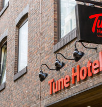 Tune Hotel - London, Liverpool Street