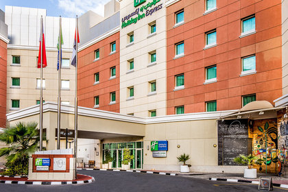 Holiday Inn Express Dubai Internet ...